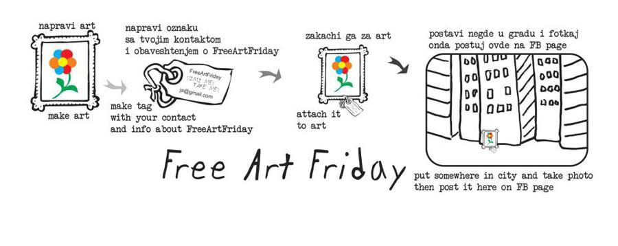 free art friday uputstvo