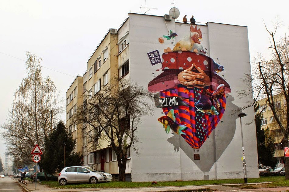 Find your way to fly, Artez & Lonac, Flaster Jam, Banja Luka, BiH, novembar 2014.