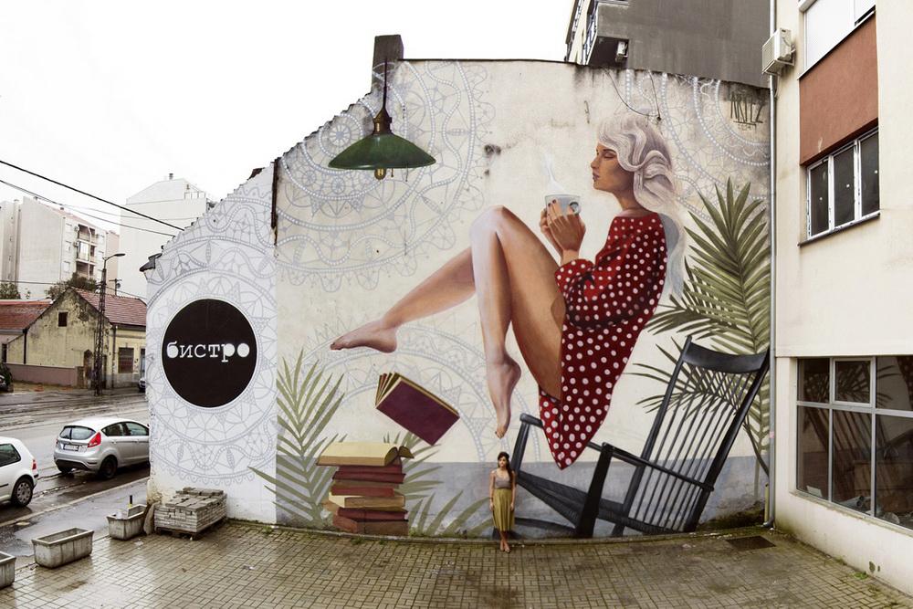 Find your way to fly, Bistro Bar, Beograd, Srbija, oktobar 2014.
