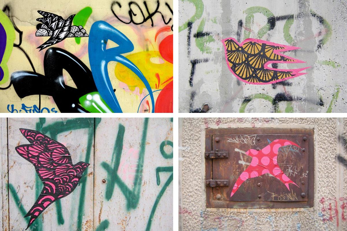Jana Danilović street art