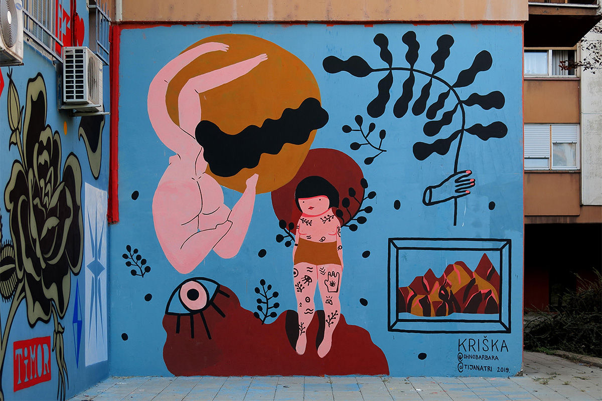 Krishka Studio, mural u Mike Alasa 34