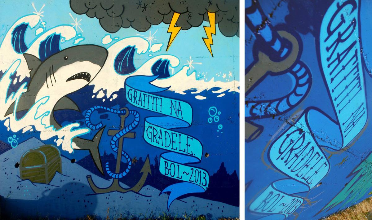 Graffiti na gradele 2013.