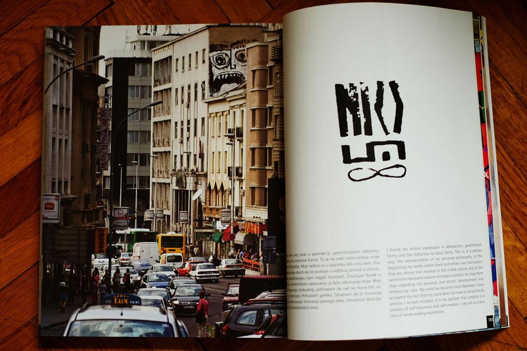 Pored fotografija, knjiga sadrži i kratak istorijat beogradske ulične umetnosti, graffiti rečnik i mini portrete nekoliko istaknutih umetnika.